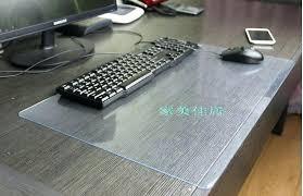Computer Desk Floor Mats Wonderful Desk Mat Transparent Mouse Pad Desk Mat Heat Insulation