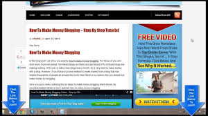 Make Money Online Blogs - how to make money online blogging from home must see youtube