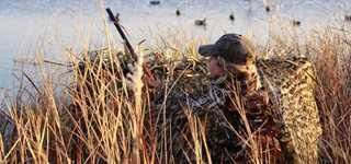 Duck Blind Images 4 Steps To A Simple Temporary Duck Blind