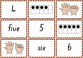 pattern and numbers 0 10 memory match or snap game cards to practise numbers number