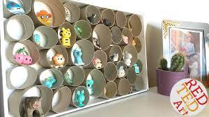 toilet paper roll diy trinket display red ted art u0027s blog