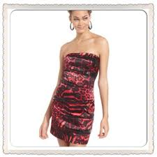 jump out of stock jump juniors strapless sequin dress from
