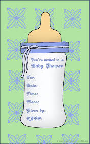 baby shower invitations message in a bottle wedding invitation