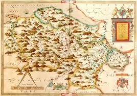 atlas k che wales christopher saxton 1579 m aa 3 l brown collection