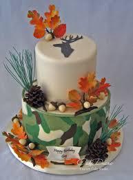 camo deer hunting cake birthday cakes pinterest cake