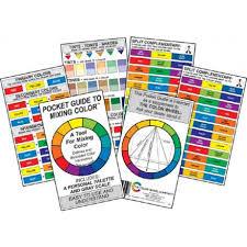 pocket color guide plazaart com