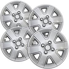 ford focus wheel caps amazon com hub caps for select ford focus pack of 4 15 inch