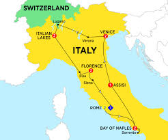 Map Venice Italy by Where Is Assisi In Italy Map Greece Map