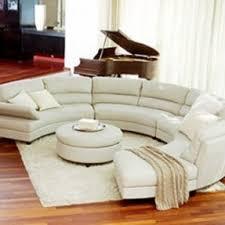 Sofa Round Circular Sofa Sectional Foter