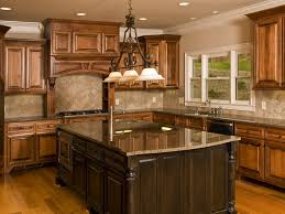 prefabricated kitchen island modern kitchen with brown granite countertops saura v dutt