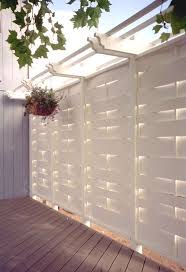 Exterior Shades For Patios Best 25 Outdoor Screens Ideas On Pinterest White Pergola