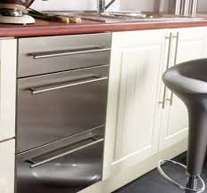 Stainless Steel Kitchen Cabinets Doors Roselawnlutheran - Stainless steel cabinet door frames