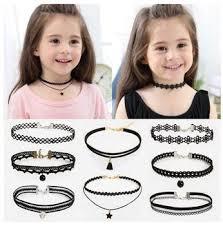 girls choker necklace images Girls child vintage velvet ribbon choker gothic retro punk choker jpg