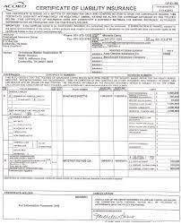 certificate of insurance template eliolera com