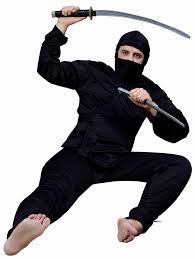 amazon com forum complete ninja costume black one size clothing