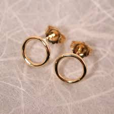 gold circle earrings 42 hoop earrings with studs hammered tiny gold circle stud