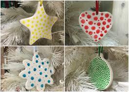 polka dot ceramic ornaments oh that mrs greene