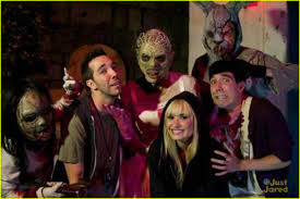 demi lovato you have to go to halloween horror nights photo