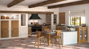 modele de cuisine provencale cuisine relooker une cuisine rustique repeindre les meubles de