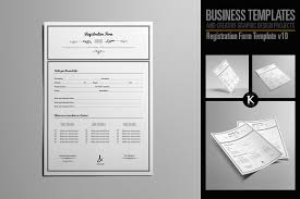 paper registration form template purchase agreement template