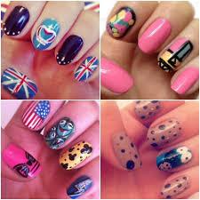 nail art impressive beautiful simple nail art picture ideas