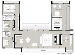 upper floor plan modern home in new canaan connecticut upper floor plan picture