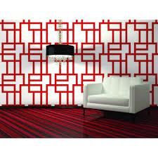 interior design flock self adhesive wallpaper in storm grey by