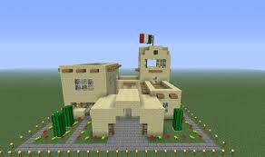 minecraft house floor plans mexican style house minecraft project home plans u0026 blueprints