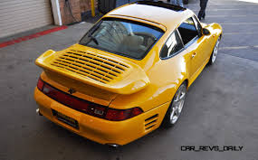 porsche yellow bird 1997 ruf porsche 911 turbo r yellowbird