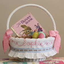 personalized easter basket liners pre order 2018 easter basket personalized liner for pottery barn