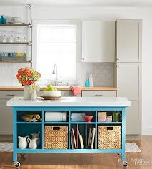 build your own kitchen island diy island ideas for small kitchens beneath my