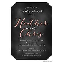 Couple Shower Invitations Couples Shower Invitations Picme Prints