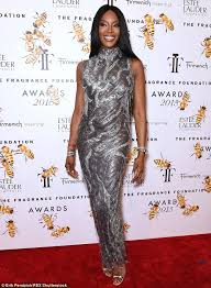 silver new years dresses cbell 45 stuns in silver versace dress she wore