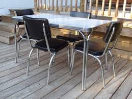 Retro Dining Room Tables by Vintage Dining Table And Chairs Tags Fabulous Retro Kitchen