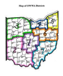 Norwalk Ohio Map by Owwa District Map 2 Jpg