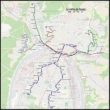 map of rouen rouen tramway