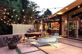 Outdoor Patio Light Ideas Patio Lighting Ideas Exle Of A Backyard Patio Design In Outdoor