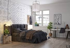 scandinavian style bedroom 1