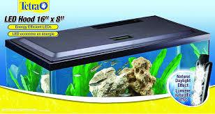 amazon com tetra led aquarium hood 16