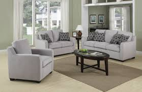 What Colors Go With Gray Glorious Grey Living Room Design With Modern Grey Fabric Sofa Set