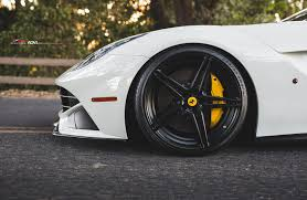 Ferrari F12 Matte Black - adv 1 wheels and 1016 industries give a ferrari f12 a new look