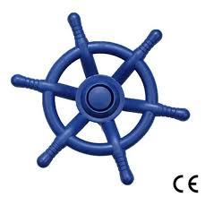 hiks blue pirate ship steering wheel 35cm ideal for kids