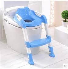baby toilet seat ladder children toilet seat high chair folding