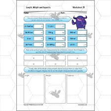 length weight and capacity activities ks2 ks2 complete series