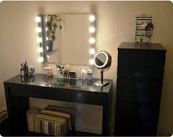 makeup vanity table without mirror makeup vanity table with lighted mirror art decor homes vintage