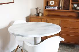 Marble Table Top Diy Marble Table Top Hello Lidy