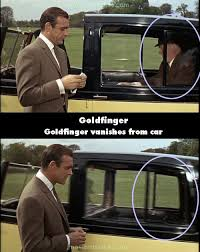 goldfinger 1964 movie mistakes goofs and bloopers all on one page