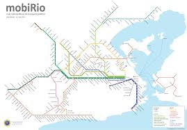 Train Map Nyc Map Of Rio De Janeiro Commuter Rail Stations U0026 Lines