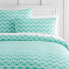 Teal Duvet Cover Cape Cod Reversible Duvet Cover Sham Pbteen