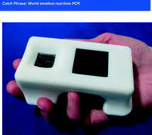 bureau de la pcr handheld pcr device lab on a chip rsc publishing